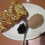 ワイン食堂 ホオバール - 「鶏レバーのペースト」