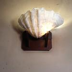 92628624 - 貝殻のウォール・ランプ