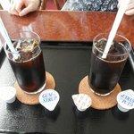 カフェ ファリガ - アイスコーヒー 100円 (食事をすると100円です)