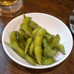 路地裏 - 2018.9 お通し(300円)枝豆