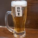 路地裏 - 2018.9 ザ・プレミアム・モルツ 生ビール 中(500円)