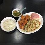 呑竜 - 料理写真:野菜炒め 定食  ¥750