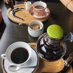 木のぬくもりカフェ 丘の上珈琲 - 料理写真:丘の上ブレンドコーヒー 550外