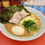 ラーメン成瀬家 - 海苔味玉ラーメン大