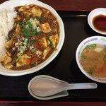 かいか - 料理写真:麻婆丼