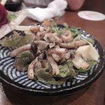 すきずき - つぶ貝ガーリック炒め