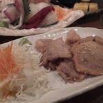 すきずき - 豚バラ西京焼き