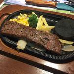 レストランあみやき亭 - 国産牛ささみ肉ステーキ