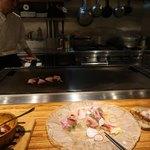 プラチナフィッシュ神谷町 TEPPANバル - 朝どれ鮮魚のカルパッチョ