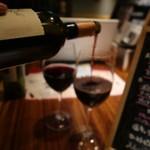 プラチナフィッシュ神谷町 TEPPANバル - 赤ワイン