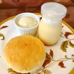 ミラベル - 8皿目@それいゆ(チーズ)、ととプリン、バニラアイス