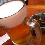 網元料理あさまる - 生ビール