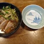 本家 鶴キそば - 鴨ねぎ煮 660円