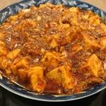 四川家庭料理 中洞 - ・麻婆豆腐