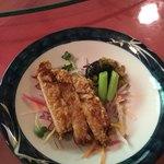中国精進料理 凛林 - カラリっと揚げられて決して脂っぽく無い豚ロース肉