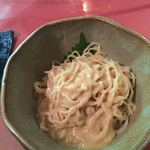 中国精進料理 凛林 - 烏龍茶冷麺は胡麻和えで
