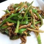 中華料理 香香 - 青椒肉絲
