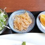 中華料理 香香 - サラダ等の小鉢