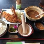 とんかつ壱番屋 - 料理写真:壱番屋ランチ定食(1134円)