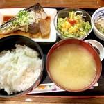 一柳 - 鯖の煮付け定食