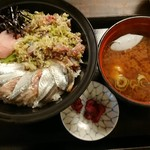 まるさ水産 - よくばりサンマ丼(税込1,080円)
