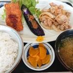 蒔田 - 料理写真:今日のランチメニュ-