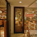 J.S. BURGERS CAFE - 2階の入り口