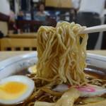大黒庵本店 - 玉子入りラーメン
