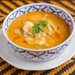 クワンチャイ タイ食堂茶屋町店 - 鶏のマッサマンカレー