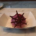 ニューヨーク・デリ - 紫イモのムース390円
