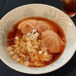 田中屋製麺所 - 家で作った醤油ラーメン