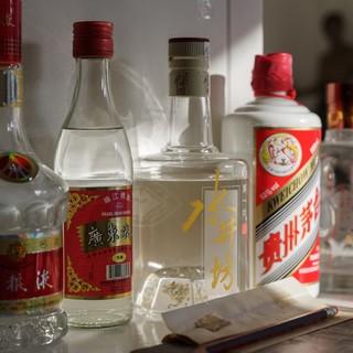 ◆ドリンク充実◆ビール・紹興酒等のお酒から中国茶まで!