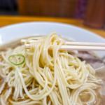 中華そば屋 伊藤 - ストレート麺