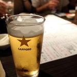 酉や 喜兵衛 - 生ビール 399円