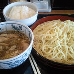 伝丸 - 料理写真:肉つけめん