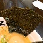 麺屋 武一 - 海苔3枚