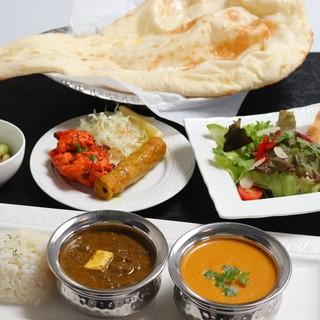 インドの本格カレー.女性に人気のハーブ料理を提供しております