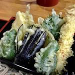 水府食堂 - 料理写真:天ざる蕎麦1400円