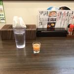92665029 - 食前の野菜ジュース_2018年9月