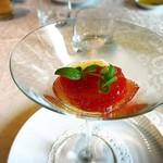 GRILL UKAI MARUNOUCHI - フルーツトマトのジュレ