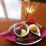 ハローキッド - お誕生日のデザート