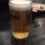食彩酒家 和らび - ドリンク写真:生ビール
