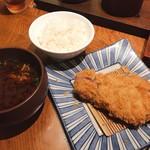 Katsukichi - ロースかつ定食 (150g)  2300円 (税込)