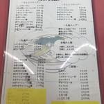 ラーメンショップ - ①メニュー(めん類)