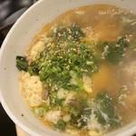 焼肉 ここから - あっさりスープ