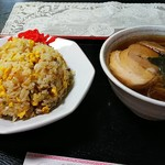 玄奘 - チャーハン&半ラーメン(¥970)