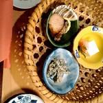 門前茶寮彌生座 - 前菜