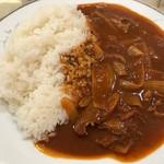 サンマルコ カレーハウス - ハヤシライス大盛りアップ