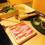 しゃぶしゃぶ温野菜 - アンデス高原豚も厳選牛(2980円)