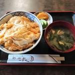 生蕎麦 海老家 - 料理写真:玉子とじカツ丼 950円